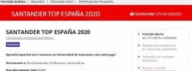 Programa santander Top España